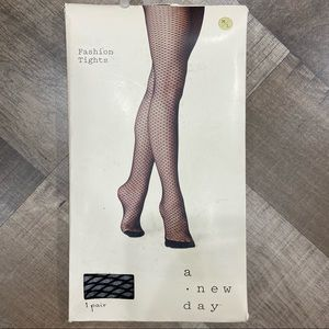 NWT A New Day Fishnet Tights